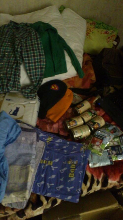 Kleidung, Futter, Bettwäsche